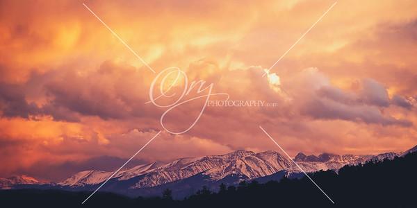 Sangre De Cristo Mountains
