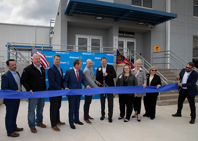 1.10.2020 Walmart Meat Processing Facility Ribbon Cutting