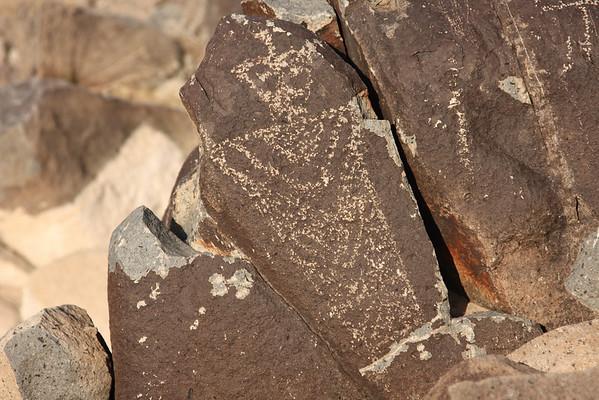 Three Rivers Petroglyph Site. May 2008