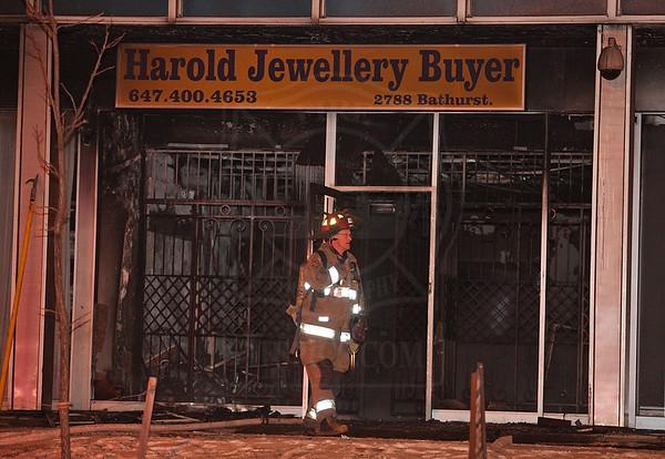 December 27, 2010 - Working Fire - 2788 Bathurst St.