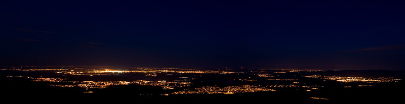 The Forth Valley at Night