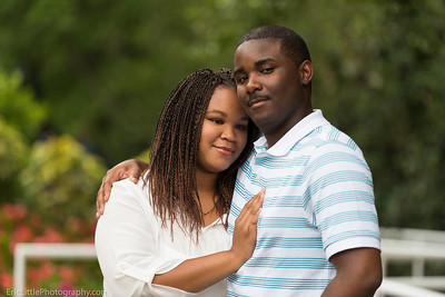 Cachet and Donald Engagement