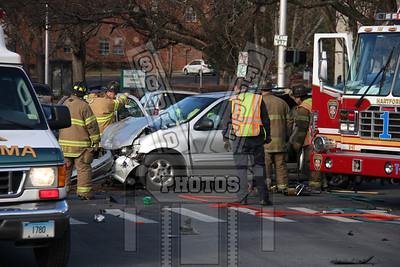 Hartford, Ct MVA with entrapment