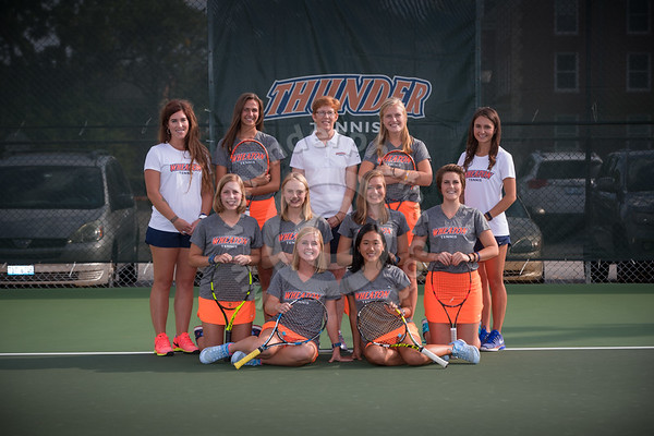 Wheaton College  Women's Tennis 2017-18