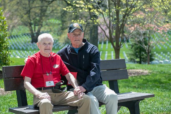 Arlington Cemetery and Women's Museum April 2018