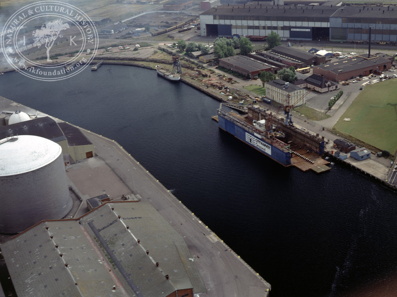 Landskrona docks (1990) | PH.0049
