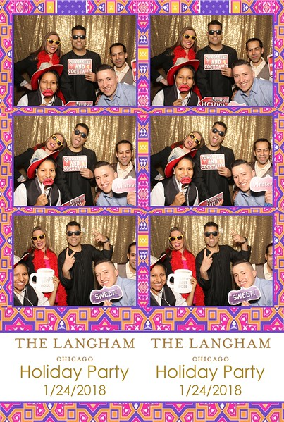Langham Holiday Party (01/24/18)
