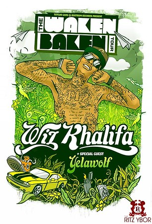 "Wiz Khalifa ""The Waken Baken Tour"" November 5, 2010"