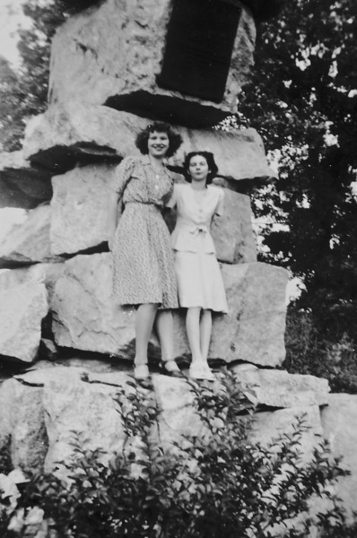 Maria Jacob on left