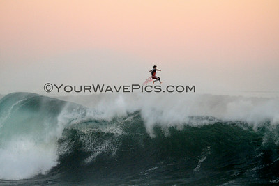 Hurricane Marie Pounds the Wedge 8/27/14