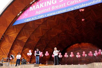 Breast Cancer Walk Performance - 10.3.10