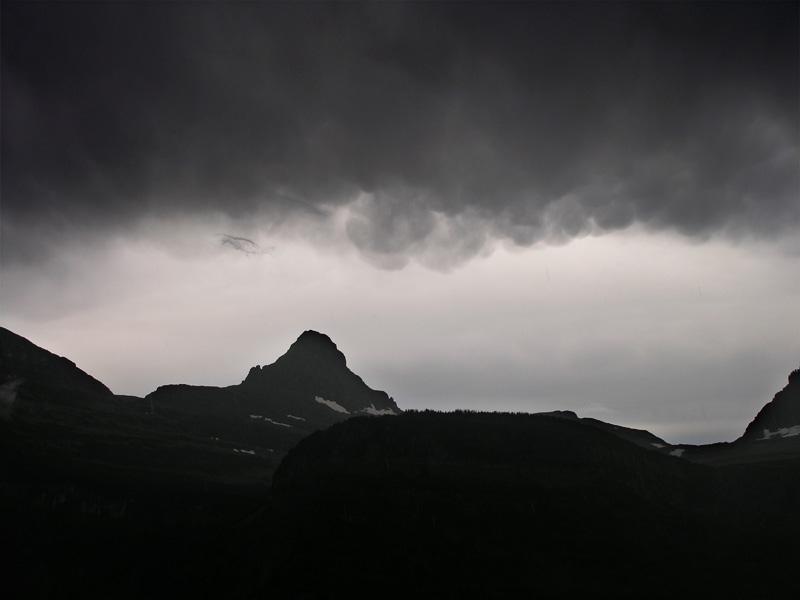 Storm over Logan Pass