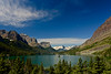 Goat Lake in Glacier National Park