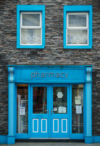 Pharmacy at Lahinch.