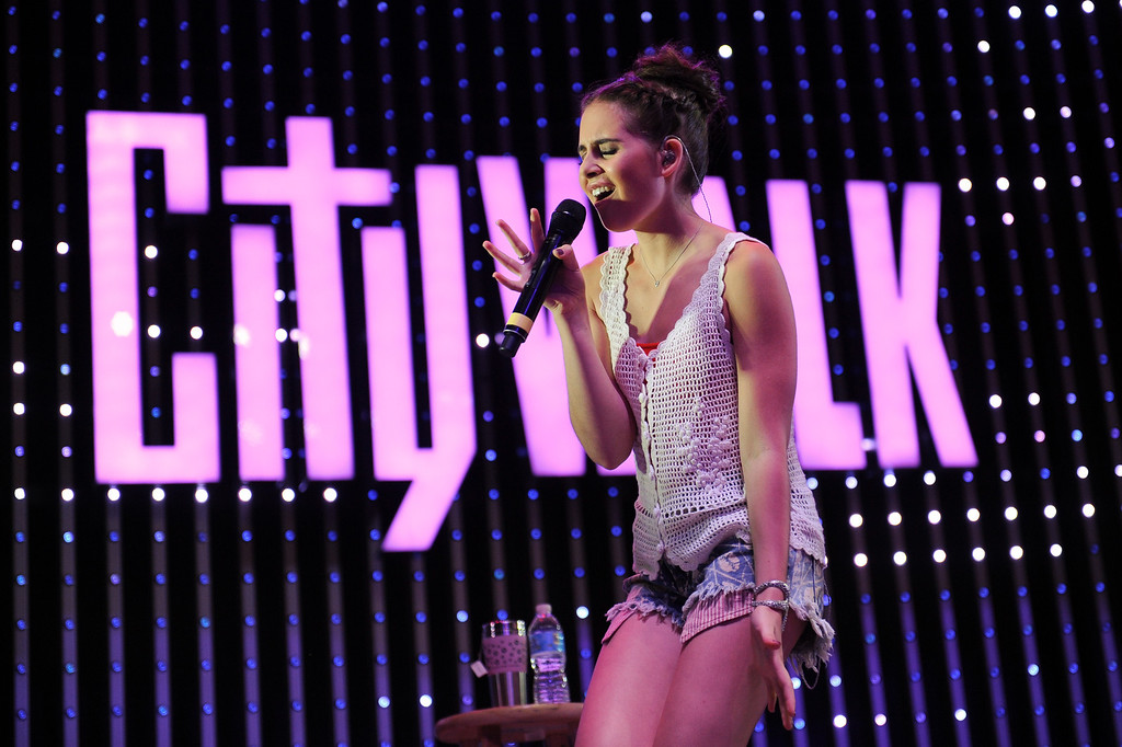 . Singer Carly Rose Sonenclar performs at 5 Towers at Universal CityWalk. Friday, July 6, 2013. (Michael Owen Baker/L.A. Daily News)