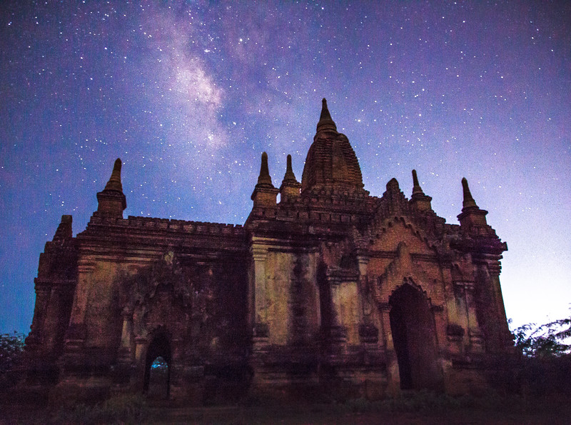 Starlight over Temples