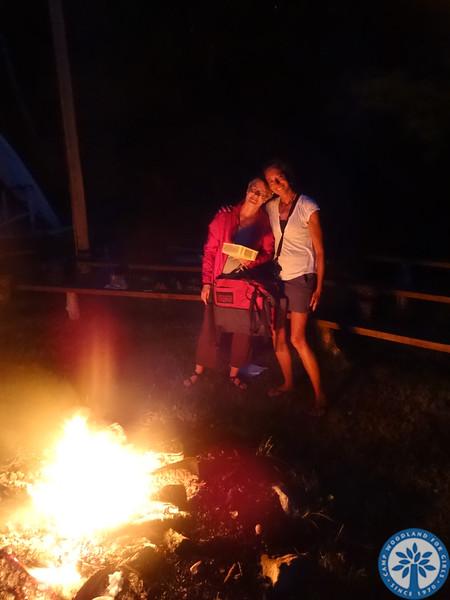 Last Campfire Nite at Camp Woodland