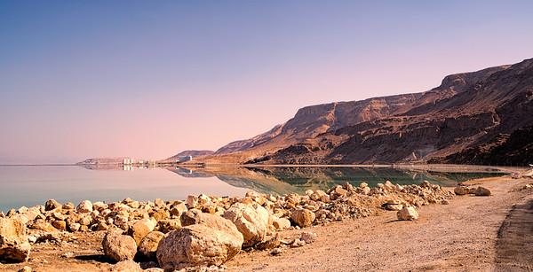 Masada, Dead Sea and Camels