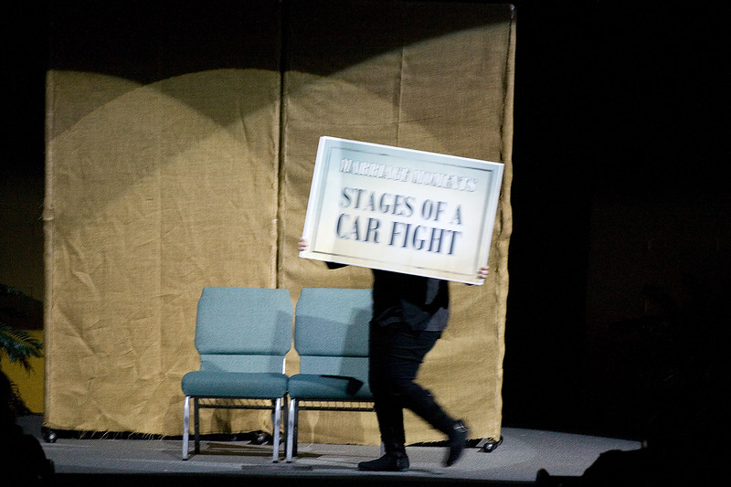 """Marriage Moment #2 - """"Stages of a Car Fight"""""""