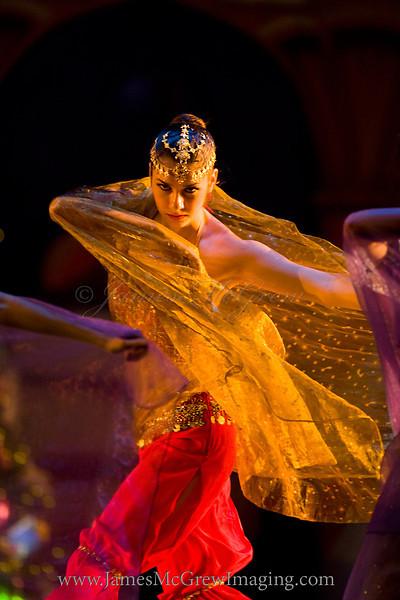 "Arabian Dance from Northwest Dance Theatre's ""A Nutcracker Tea.""  ©2011, James McGrew"