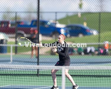 Girls Tennis: Heritage vs Woodgrove 4.17.2017 (by Jeff Vennitti)
