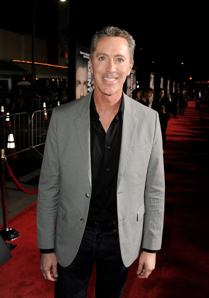 Description of . Comedian Michael McDonald arrives at the premiere of Universal Pictures'