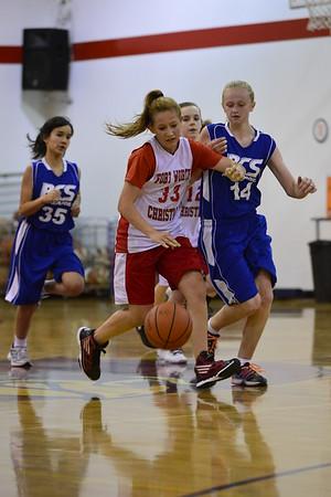 7th Girls B Basketball  11-20-2014