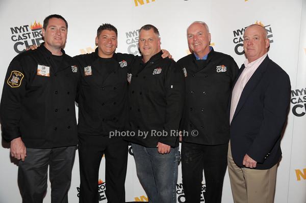 Greg Gormsen, Frank Ciofrone, Tom Gorman, Frank Guinan (Team Old Westbury PD), Dennis McCavera photo by Rob Rich/SocietyAllure.com © 2014 robwayne1@aol.com 516-676-3939