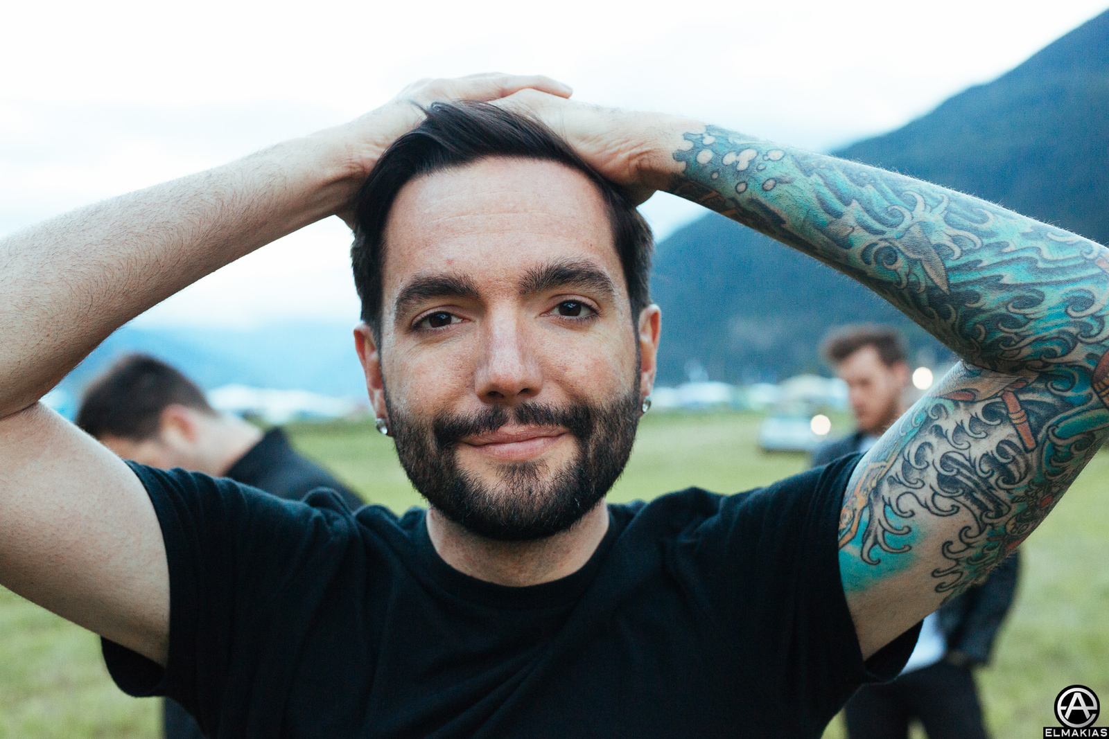 Jeremy Mckinnon at Open Air Gampel Festival in Switzerland