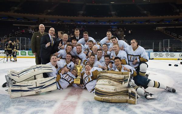 2016-01-09 NAVY Hockey vs Army at Madison Square Garden