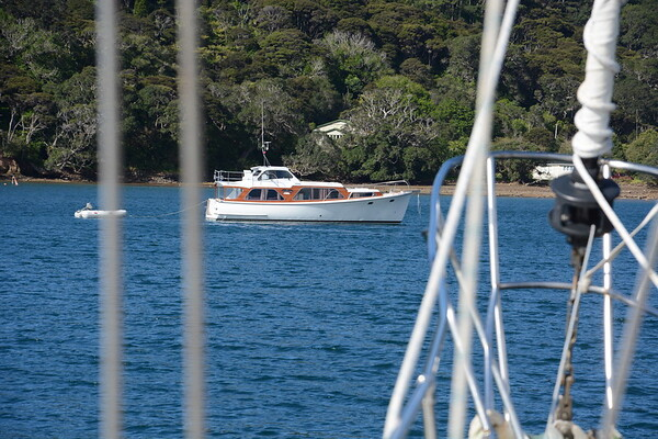 Port of Fitzroy on Great Barrier Island