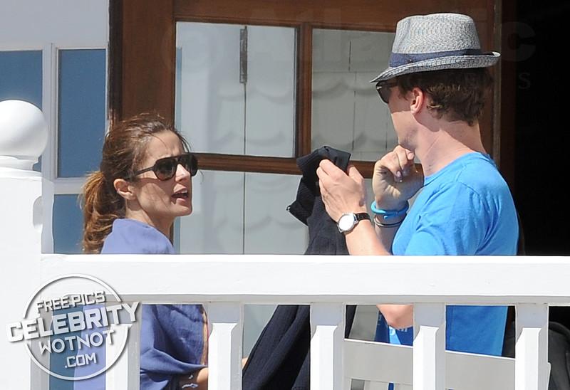 EXCLUSIVE: Benedict Cumberbatch and Colin Firth Are Beach Buddies! LA