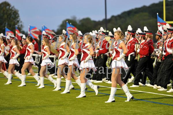Daniel Boone VS Pottsville High School Football 2010 - 2011