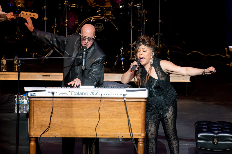 Paul Shaffer and Darlene Love