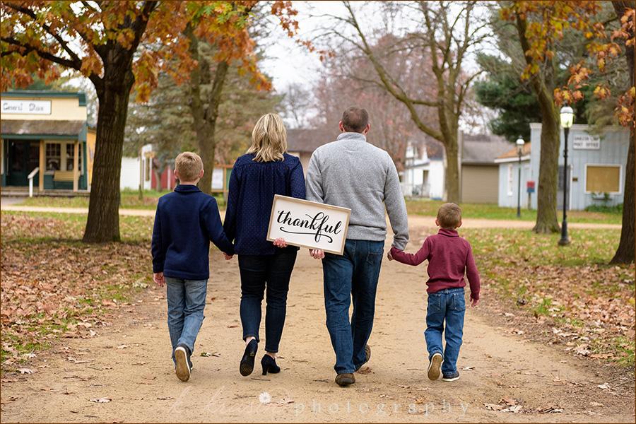 Thankful walk