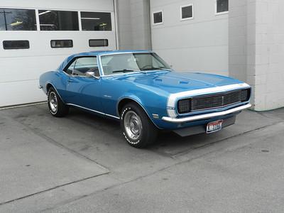 1968 Chevrolet Camaro - Matt Backs
