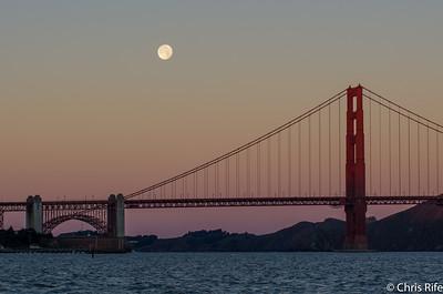 Moonset, Sunrise, Sunset, Dec 26 2015