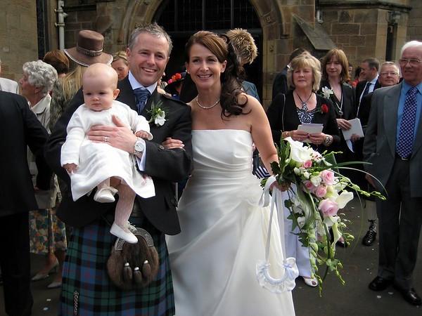 Ronnie and Rhona Wedding 2007