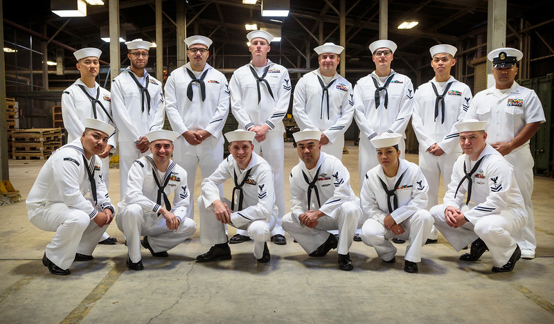 HSD 2019 Dress Whites Inspection