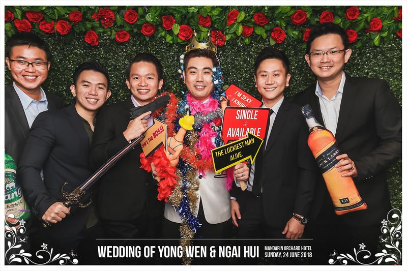 Wedding of Yong Wen & Ngai Hui   © www.SRSLYPhotobooth.sg