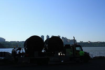 Morris County Neptune Drill at the George Washington Bridge