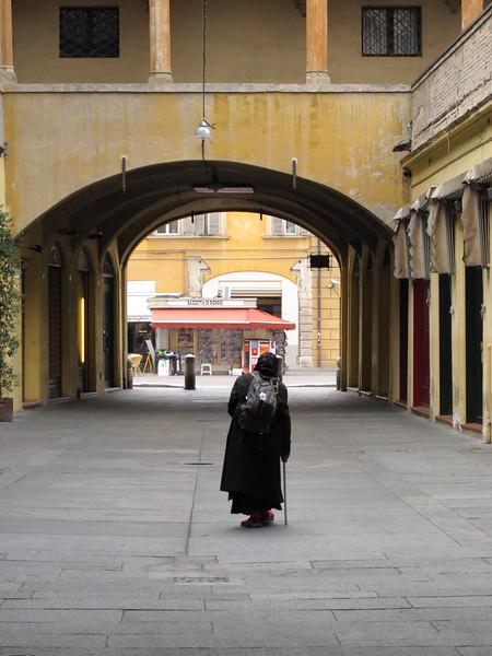 Via Broletto - Reggio Emilia, Italy - October 11, 2010