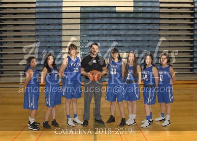 2019 Catalina girls basketball
