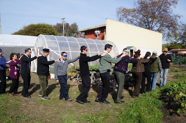 East Bay Rabbi Council on the Farm 11/13/2012