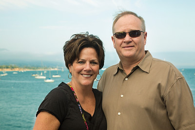 Kevin and Laurie in California