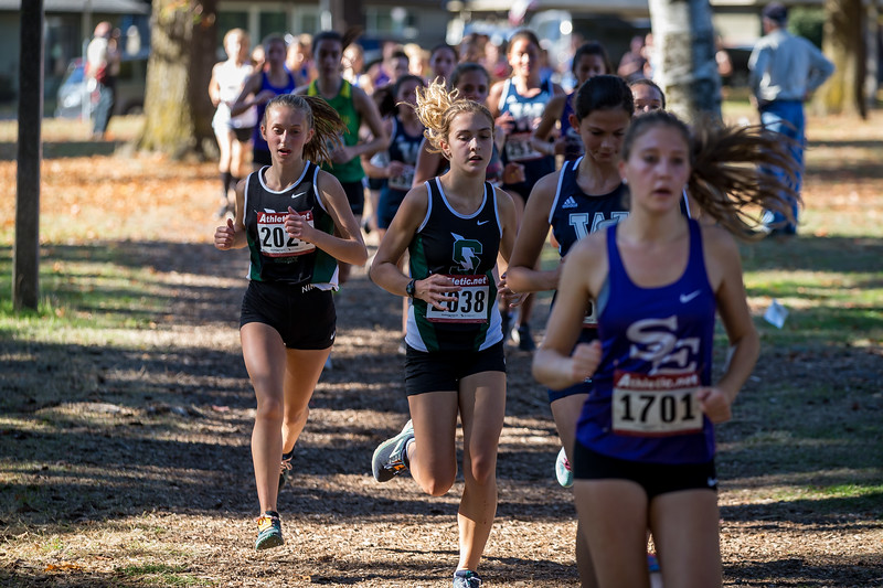 2018 Warner Pacific XC race