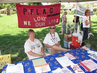 PFLAG at PrideFest/COS - 7/16-17/11