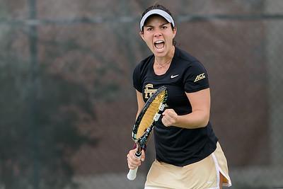 FSU W Tennis v NC State Mar 2015