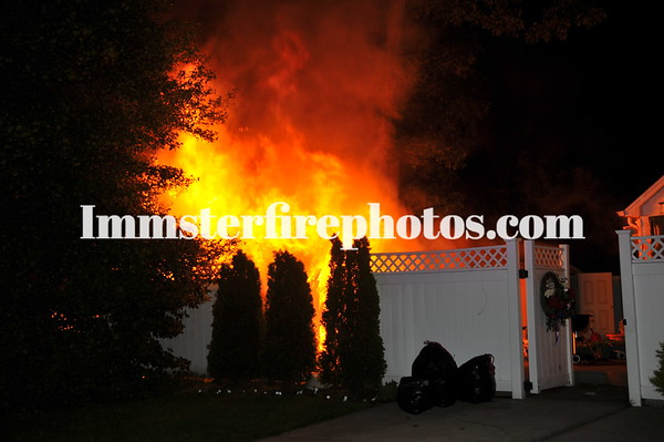 MASSAPEQUA FOREST AVE SHED FIRE 6-4-11