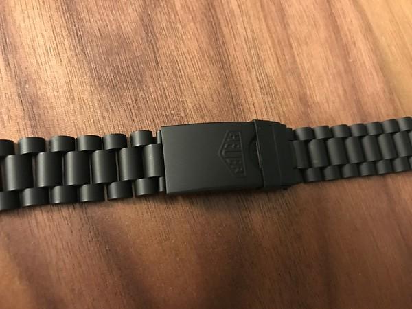 BRAC 20 - Heuer PVD 18mm